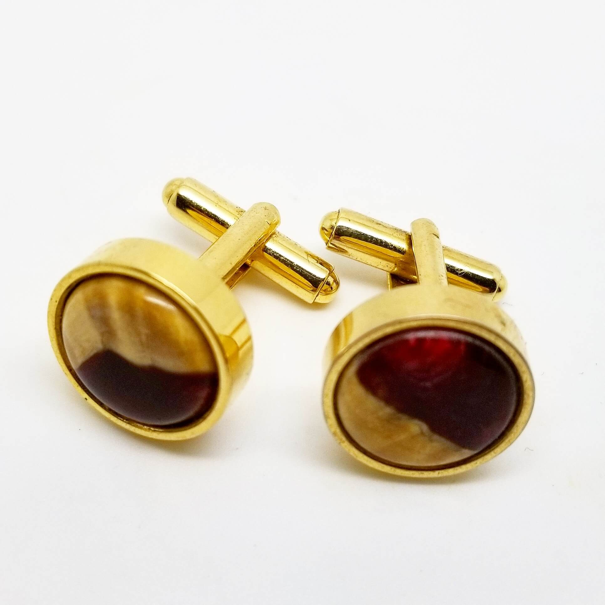 Fiji Burgundy Cufflinks