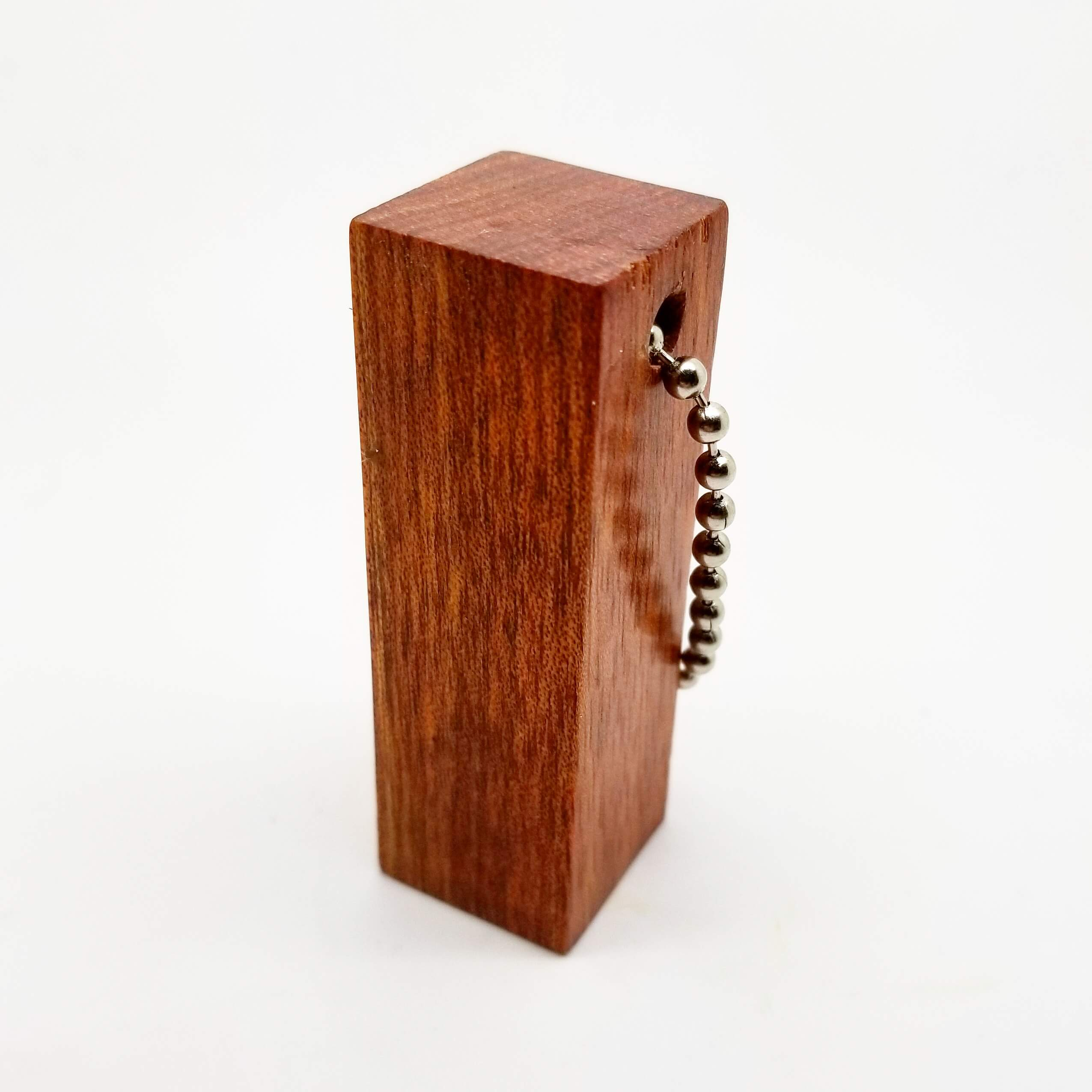 Redwood Block Keychain